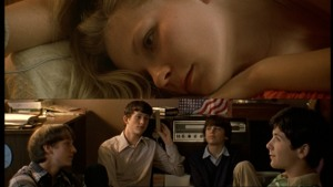 the-virgin-suicides Record scene