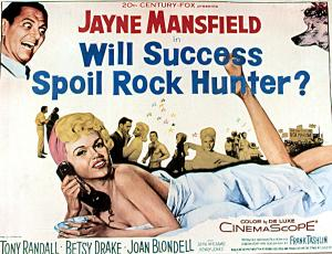 will success spoil rock hunter poster